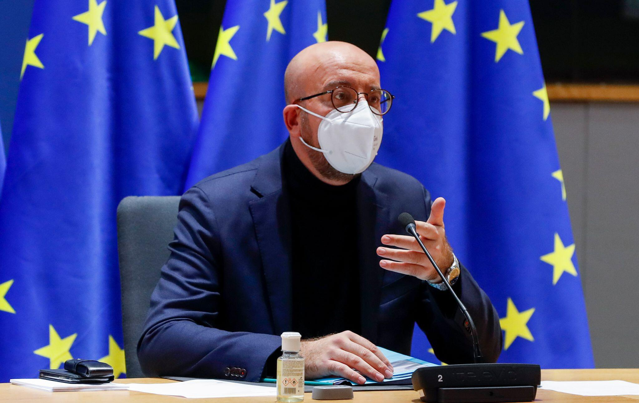 Bild zu EU-Videogipfel zur Corona-Pandemie
