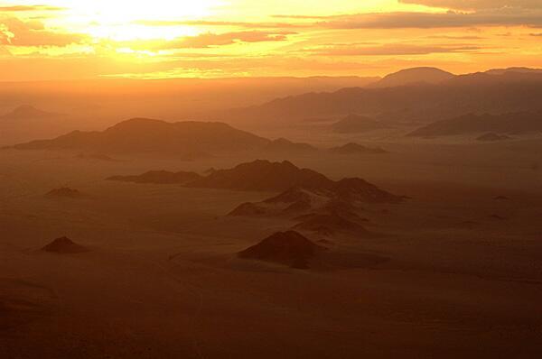 Bild zu Bergspitzen in Namibia