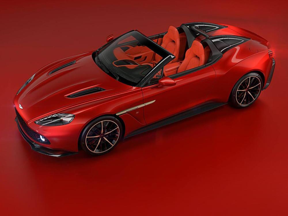 Bild zu Aston Martin Vanquish Zagato Speedster