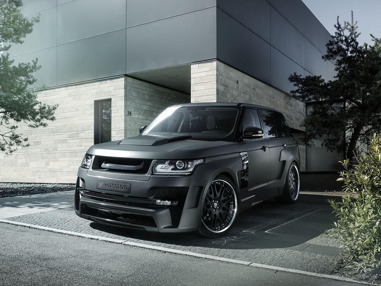 Bild zu Aufgebrezelter Range Rover: Hamann Mystère mit bulligem Bodykit