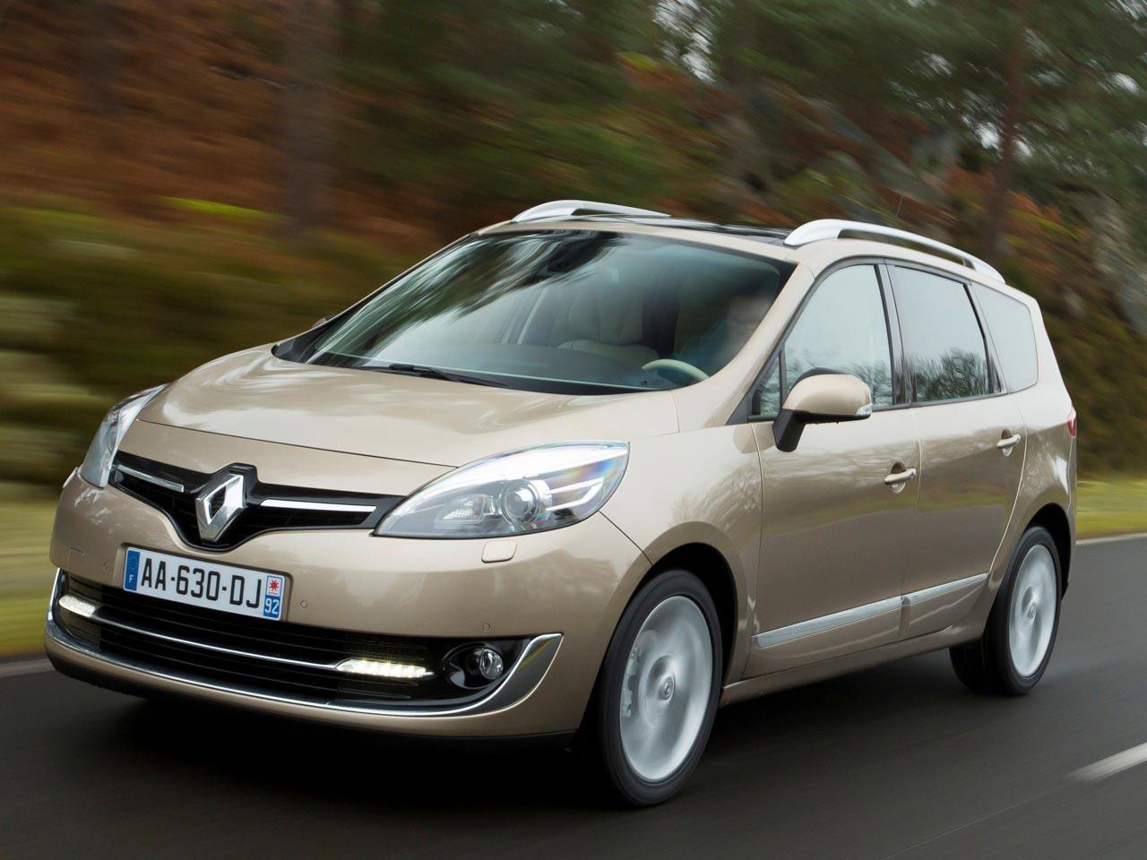 Bild zu 6. Platz: Renault Grand Scenic