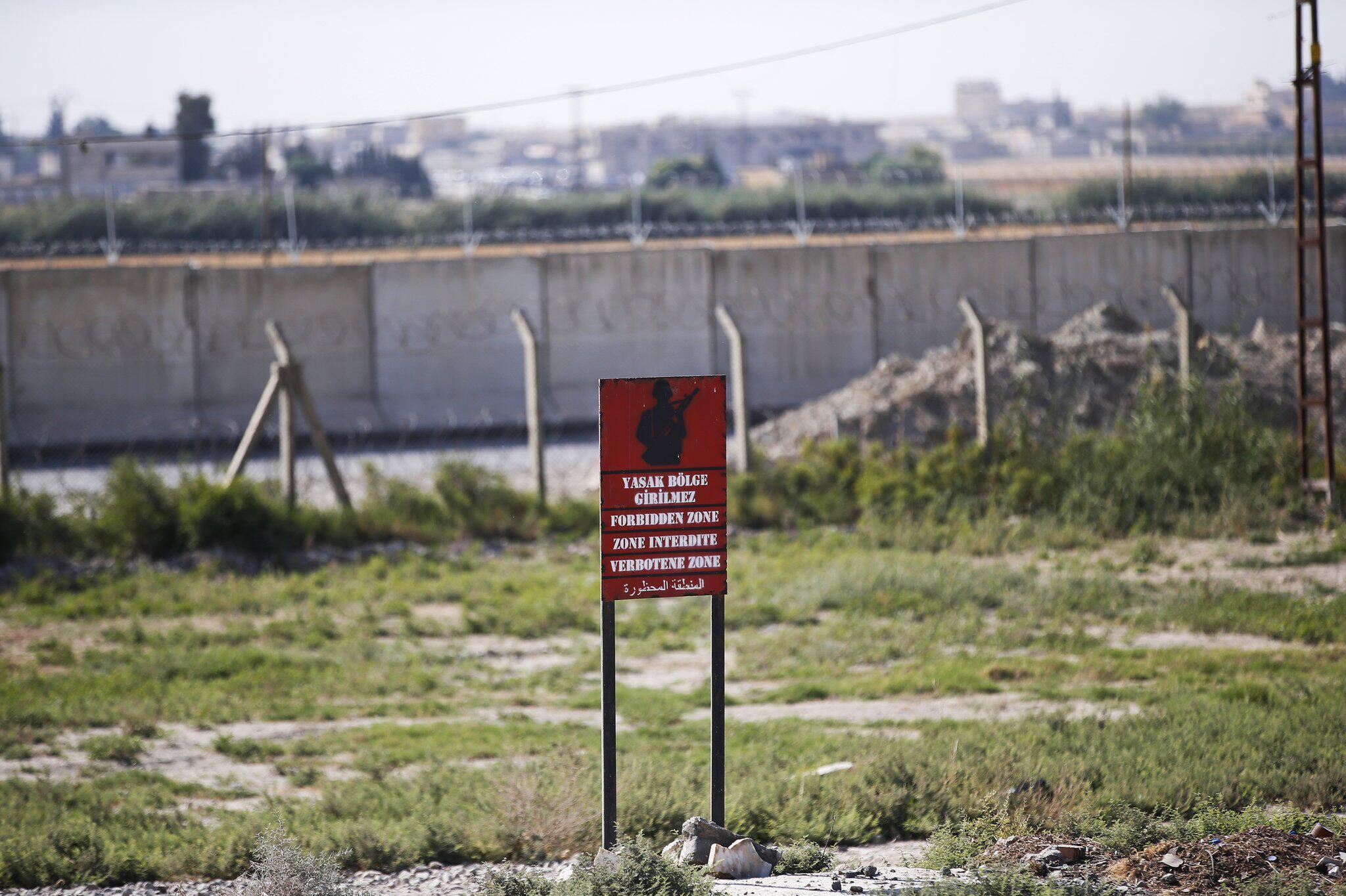Bild zu Türkische Truppen an syrischer Grenze