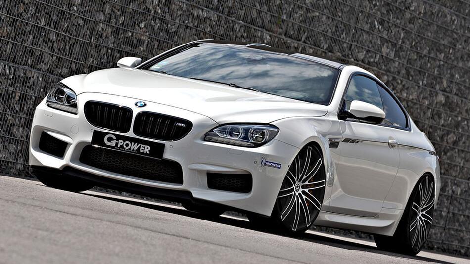 Aufgepeppter BMW M6 von G-Power