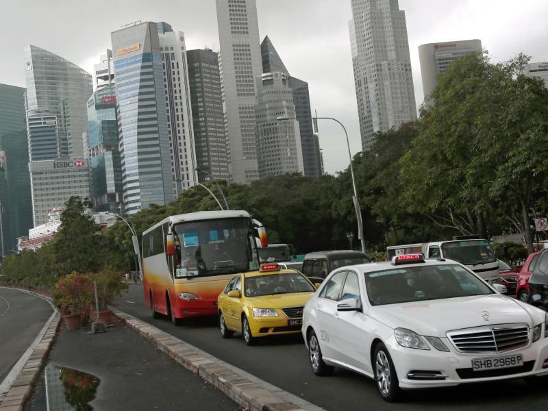 Bild zu Verkehr in Singapur