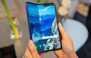 Samsung verschiebt Start seines Auffalt-Smartphones