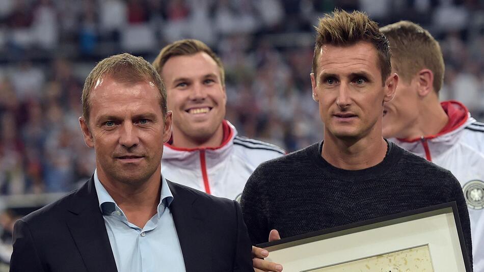 Hansi Flick, Miroslav Klose, DFB-Team