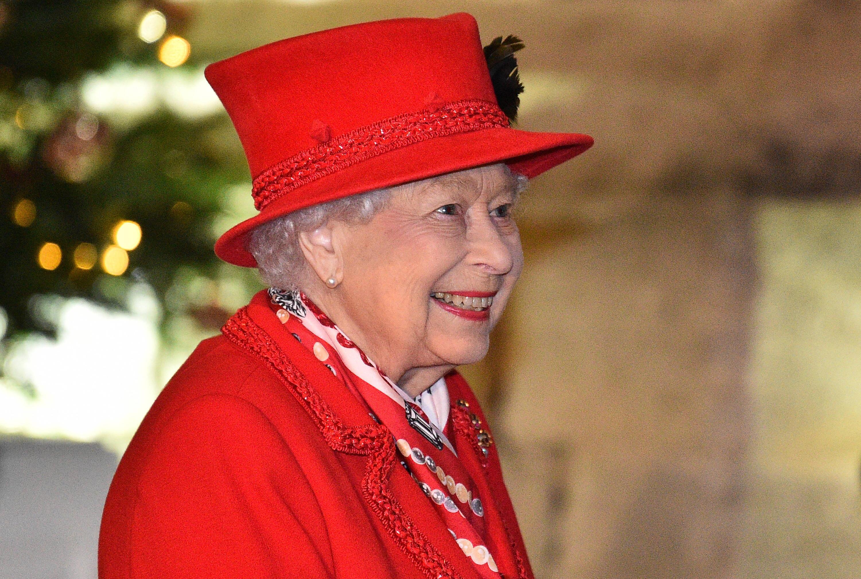 Bild zu Die Queen war bei einem Videotelefonat mit Australien zum Scherzen aufgelegt.