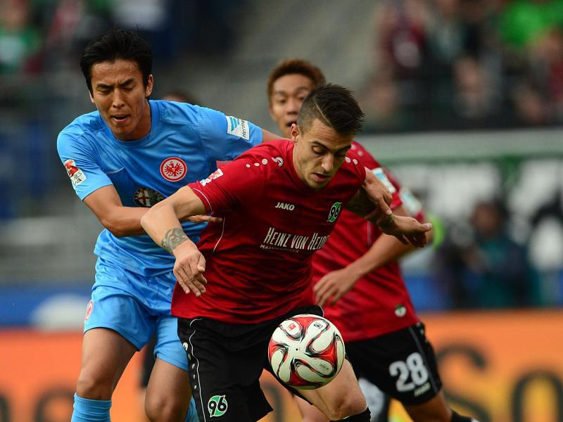 Bild zu Hannover 96 - Eintracht Frankfurt