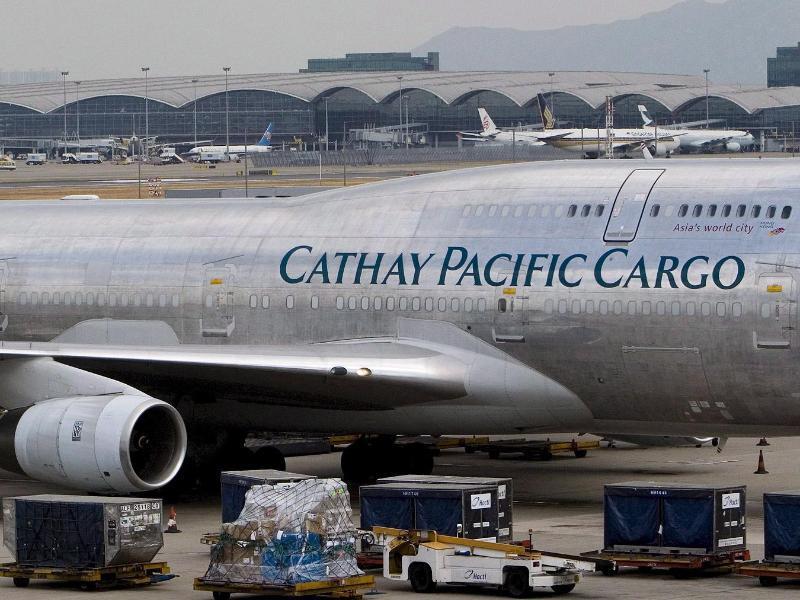 Bild zu Flugzeug von Cathay Pacific