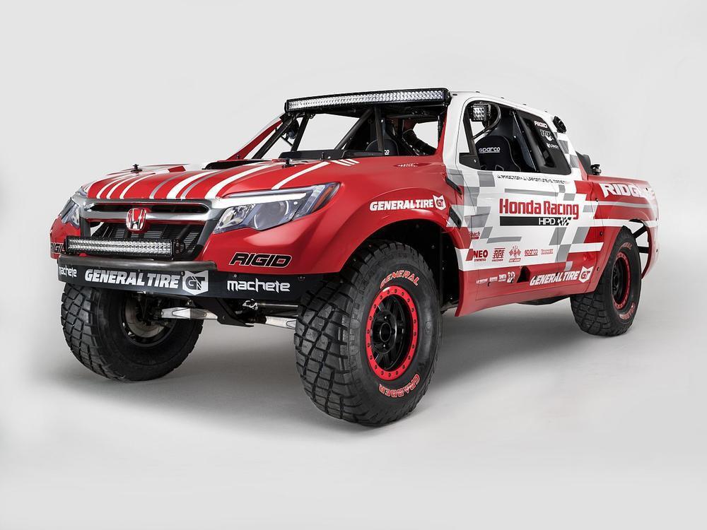 Bild zu Honda Ridgeline Baja Race Truck