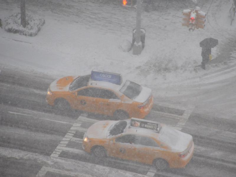Bild zu Wintersturm in New York