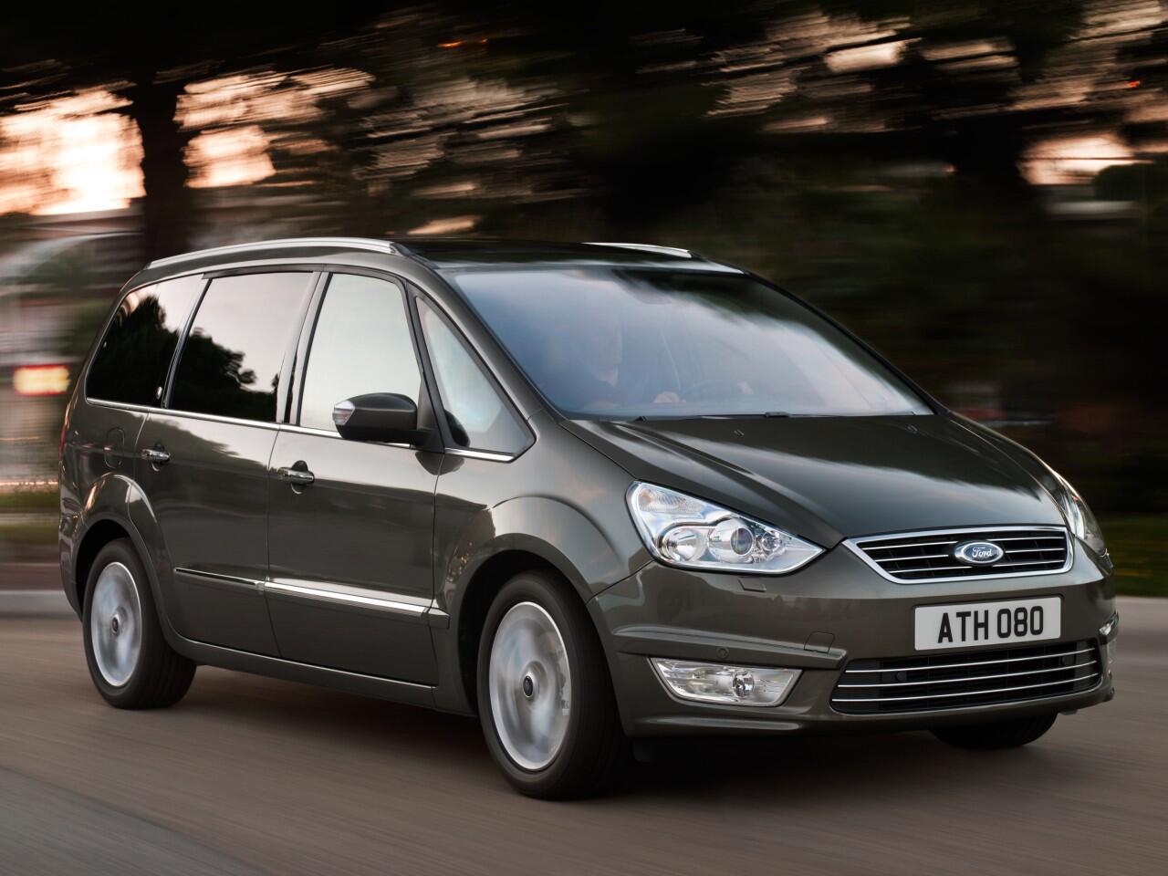 Bild zu 2. Platz: Ford Galaxy