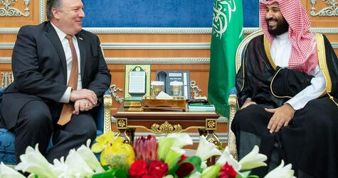 Mike Pompeo in Saudi-Arabien