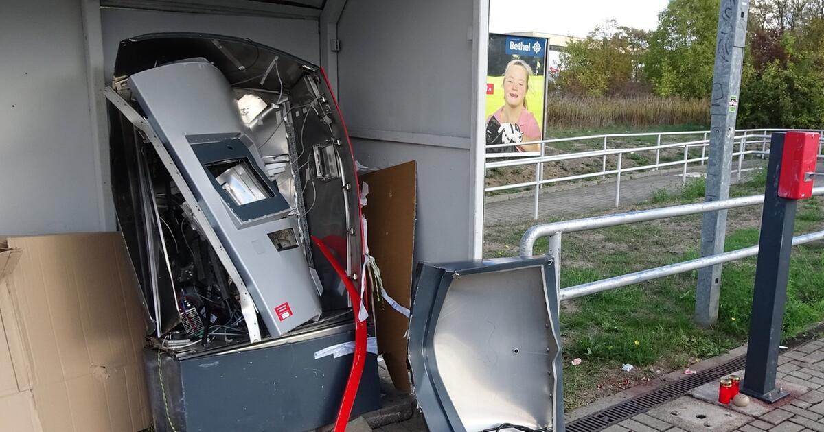 Mann stirbt bei Explosion von Fahrkartenautomat – zwei Festnahmen