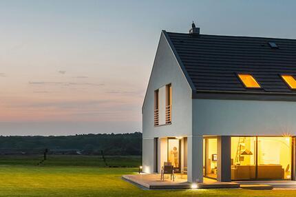 Wohnen und Immobilien - Symbolbild