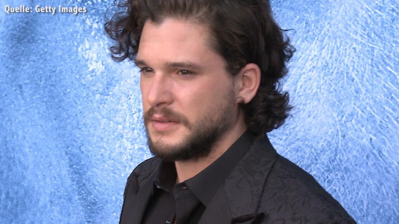 """Bild zu Kit Harington weint wegen Finale von """"Game of Thrones"""""""