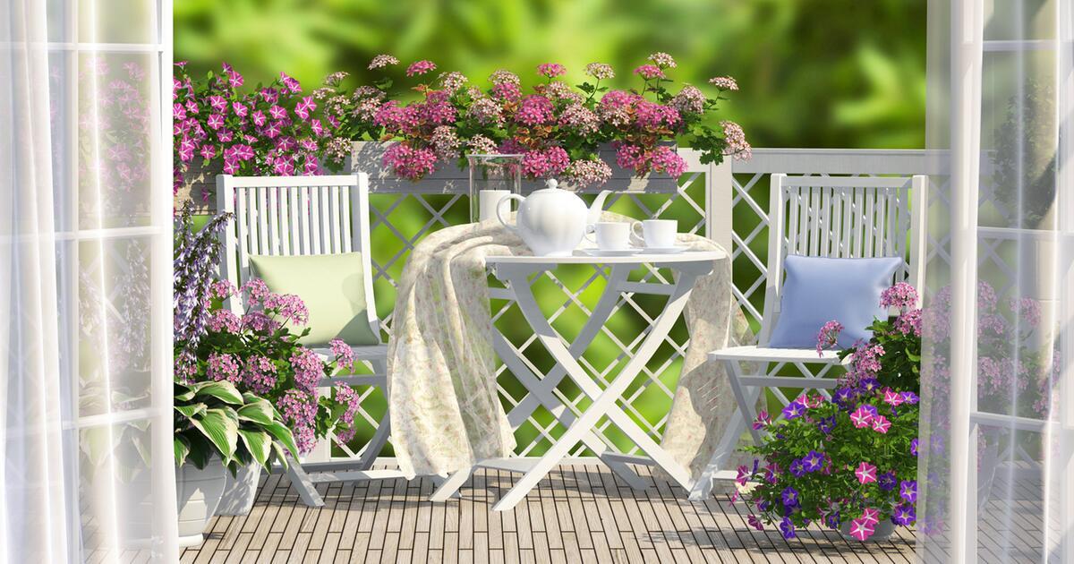 Urlaub Auf Balkonien Trendige Möbel Für Kleine Und Große