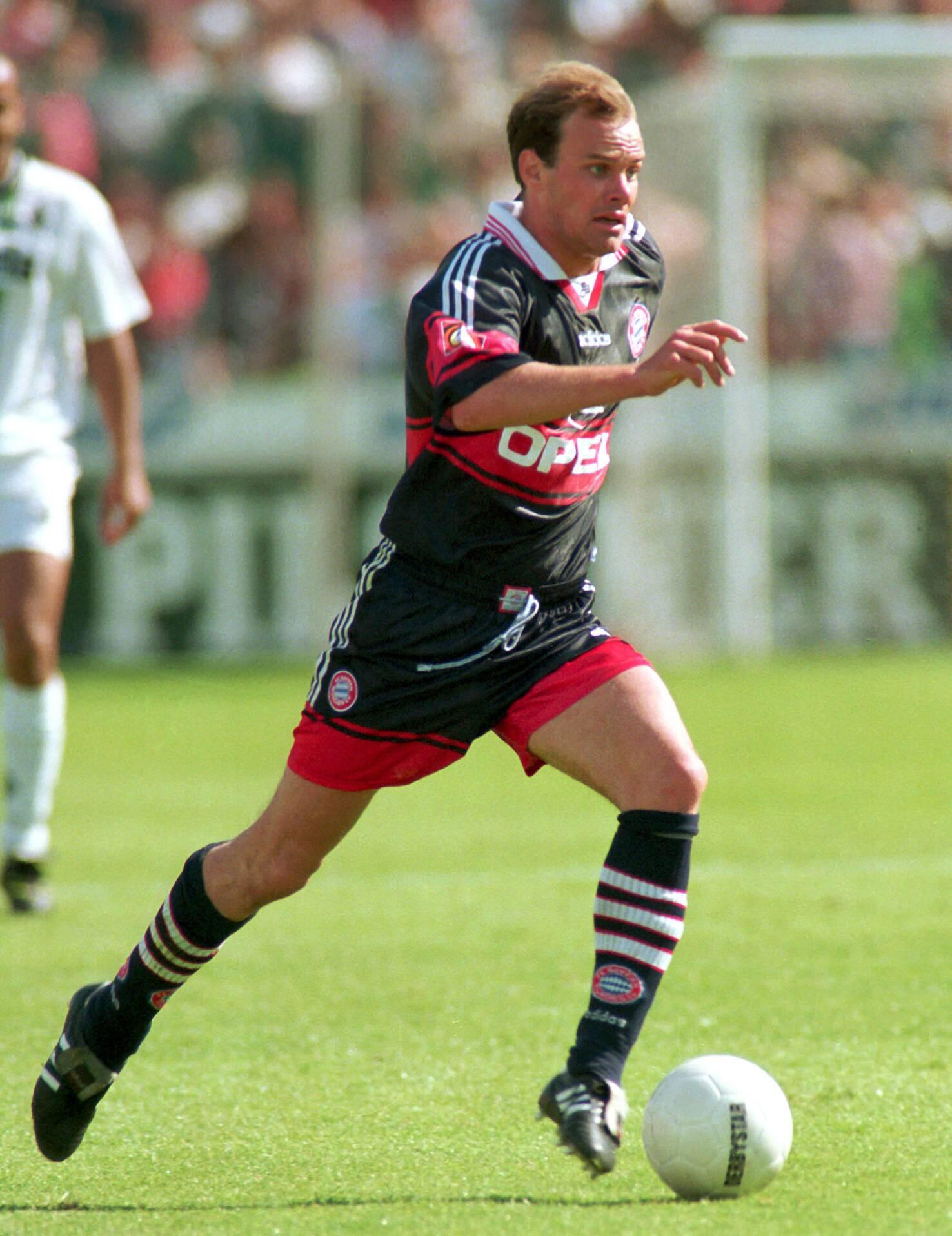 Bild zu Christian Nerlinger, FC Bayern München, Borussia Mönchengladbach, Bundesliga, Bökelberg, 1996/97