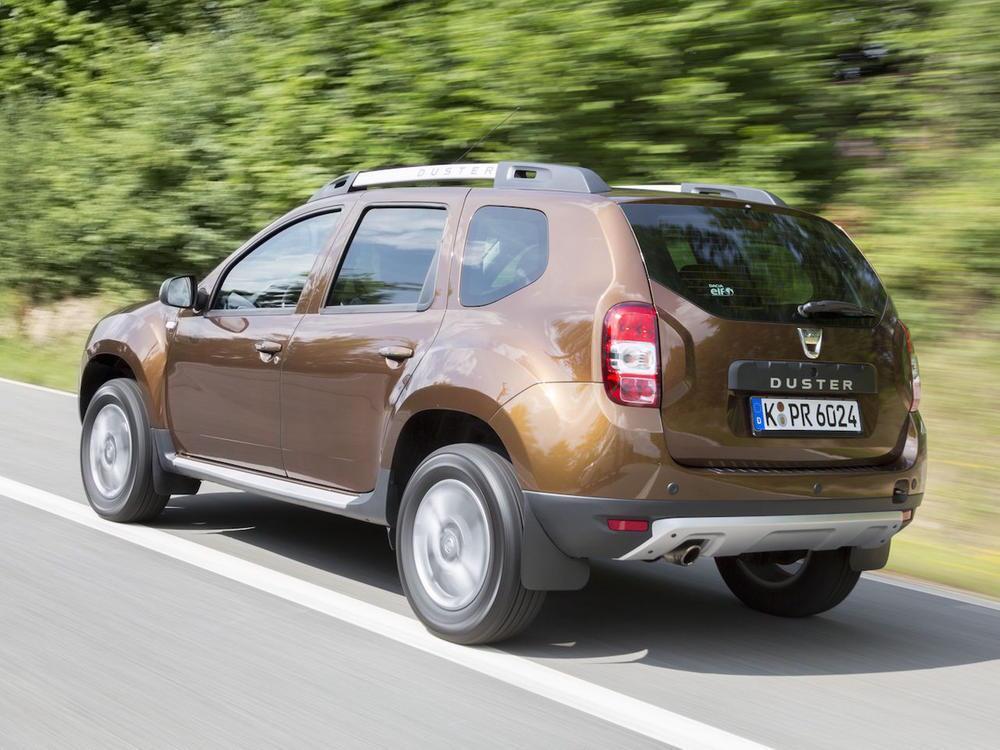Bild zu Platz 1: Dacia Duster