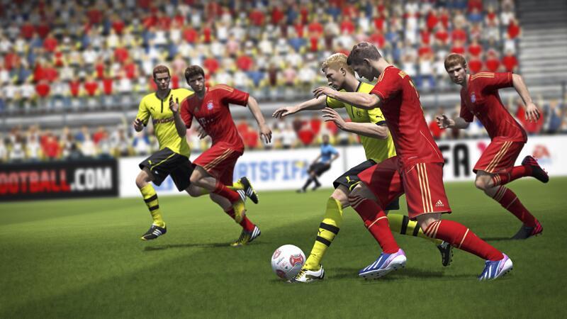 Bild zu EA protzt mit allen Teams der 1. und 2. Bundesliga und einer tollen Grafik.