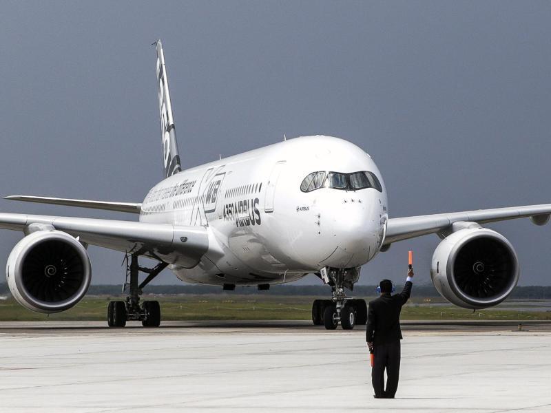 Bild zu Airbus A350