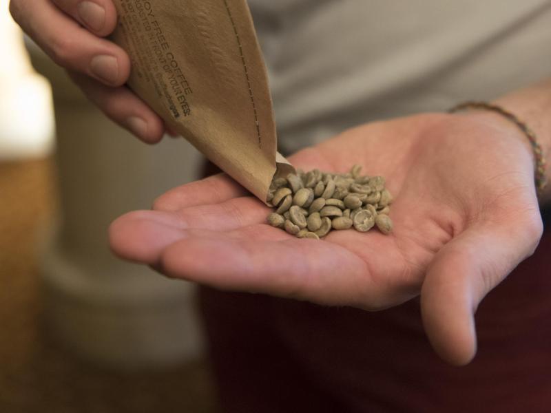Bild zu Grüne Kaffeebohnen