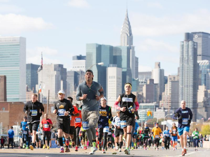 Bild zu Marathon in New York