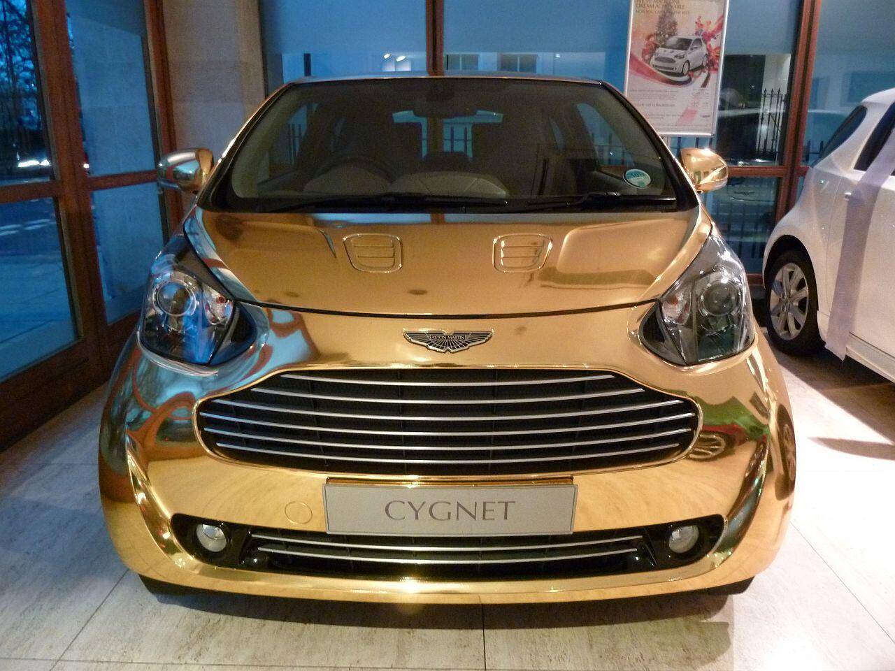 Bild zu Aston Martin Cygnet