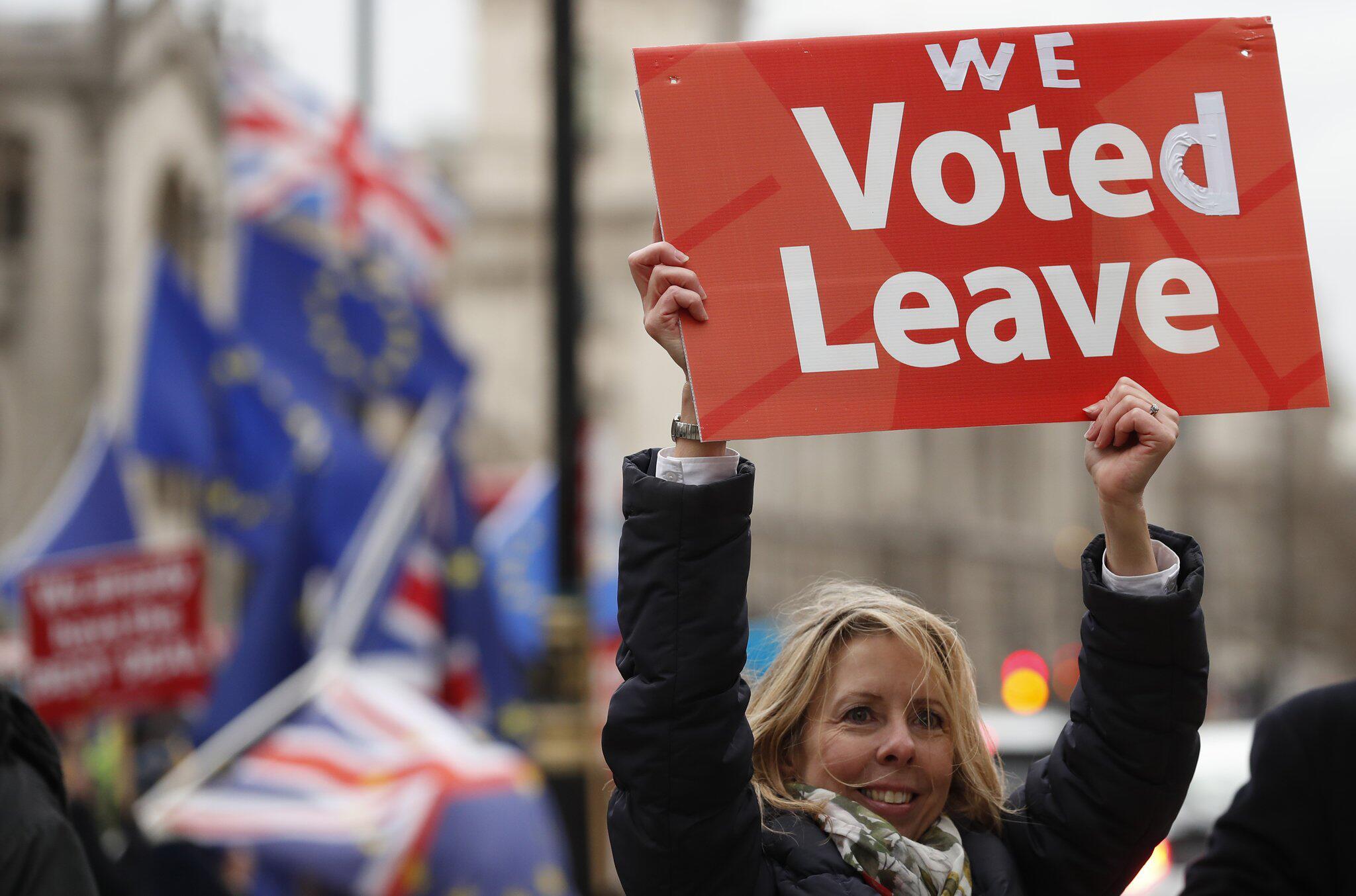 Bild zu Brexit Demonstration in London