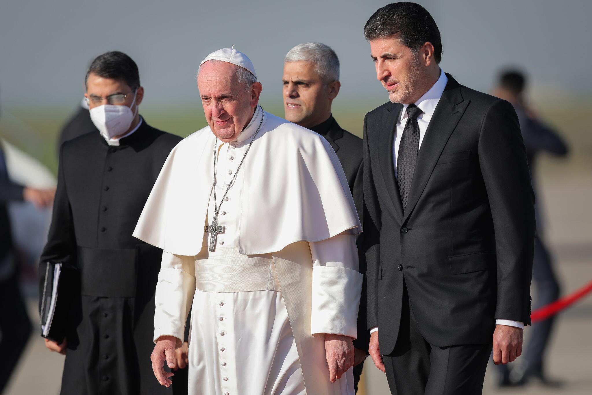 Bild zu Papst Franziskus zu Besuch im Irak