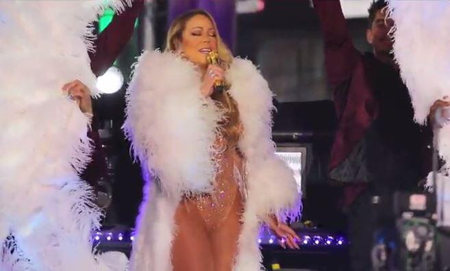 Bild zu Peinlicher Playback-Auftritt: Mariah Carey enttäuscht ihre Fans