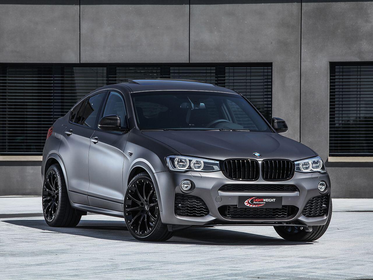 Bild zu BMW X4 Lightweight