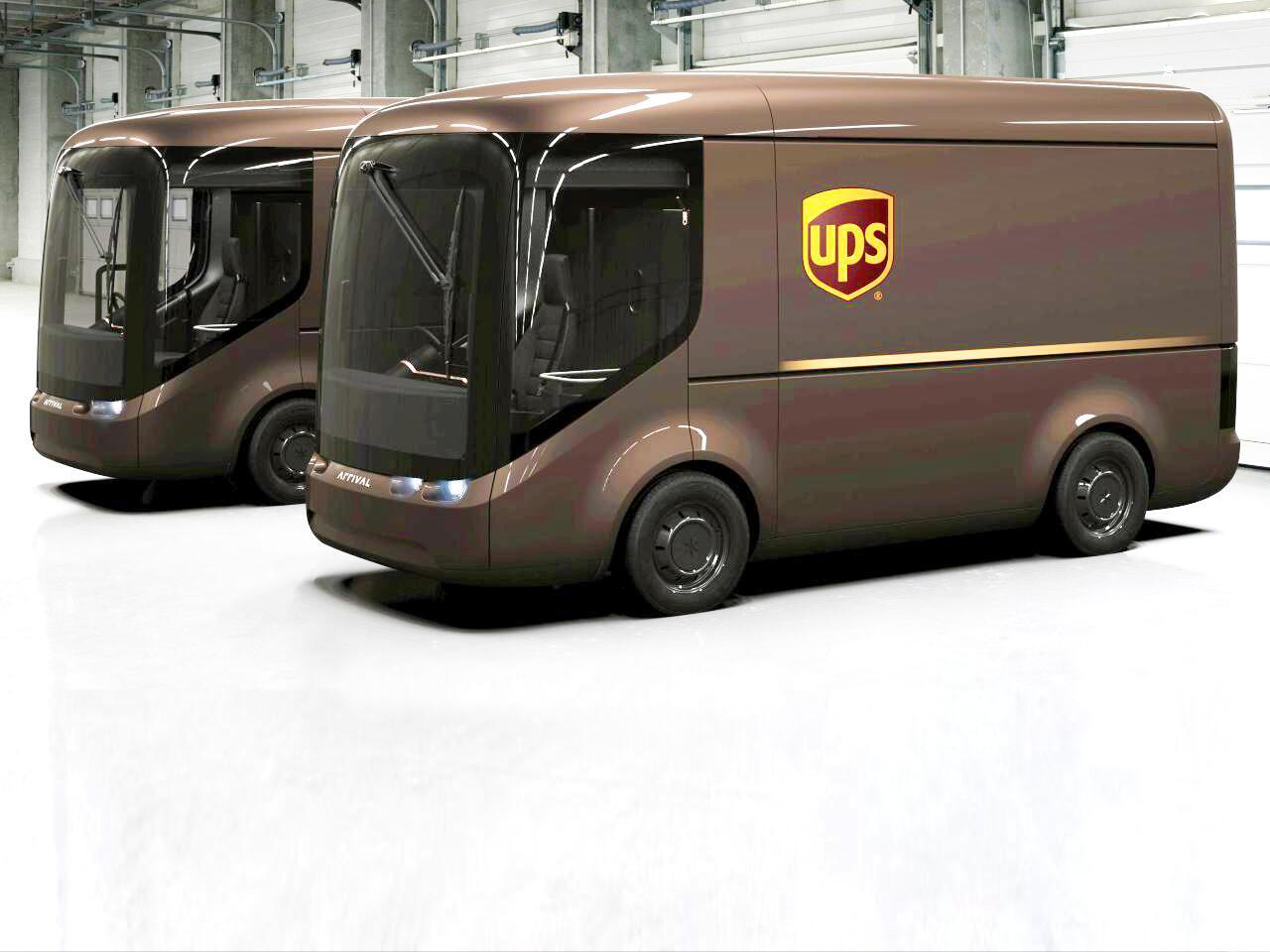 Bild zu UPS E-Transporter