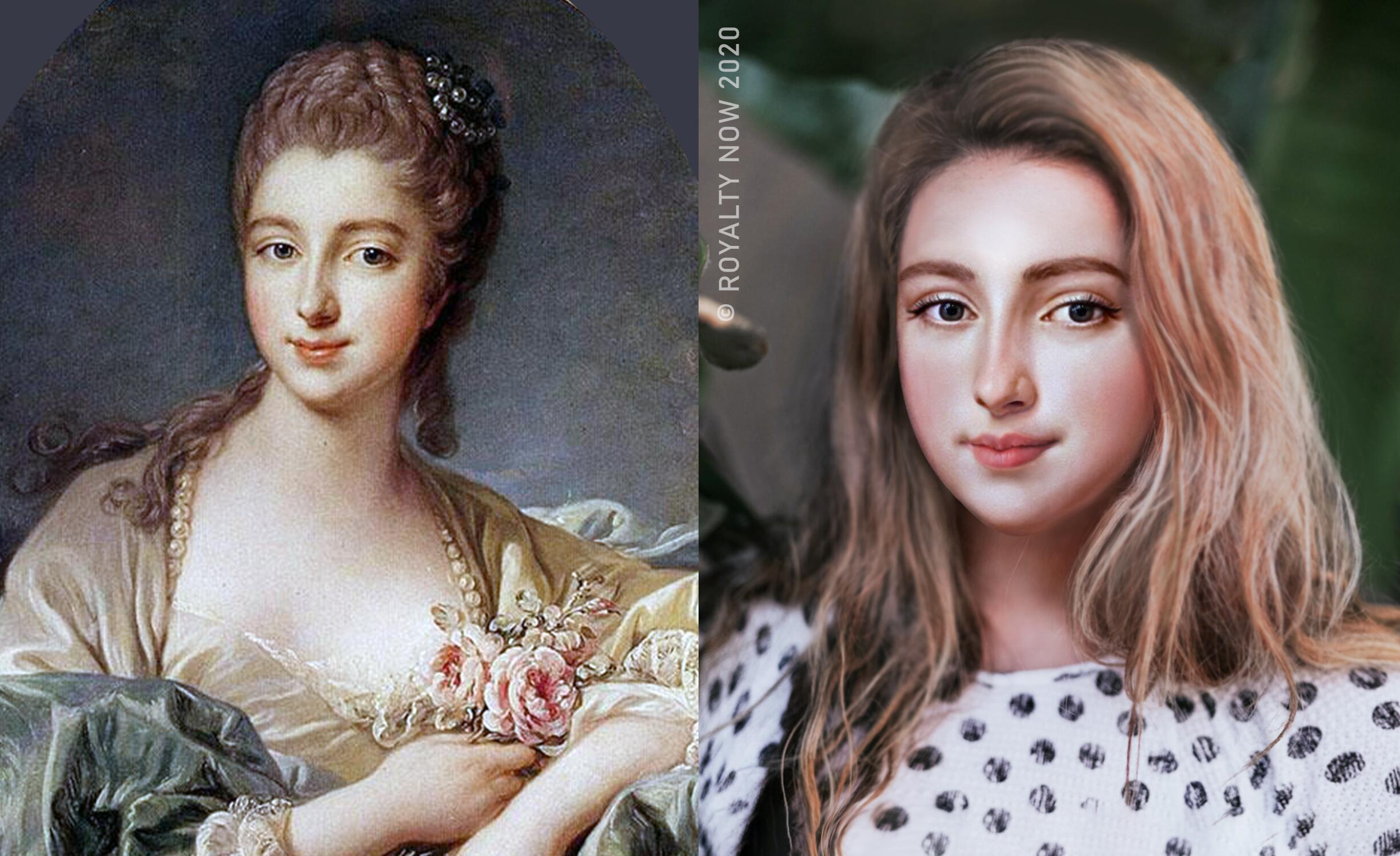 Bild zu Madame de Pompadour