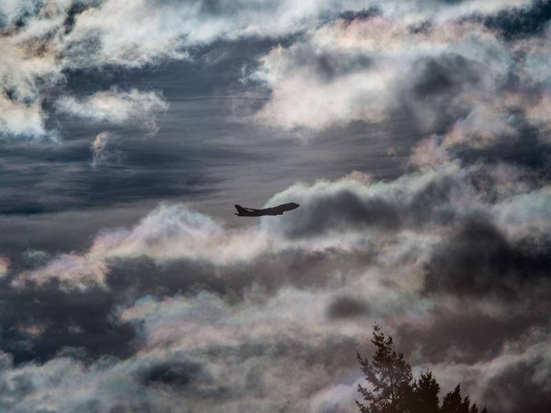Bild zu Flugverspätung wegen Unwetter