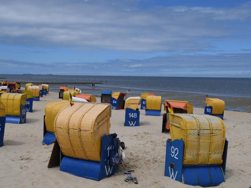 Bild zu Strand von Cuxhaven
