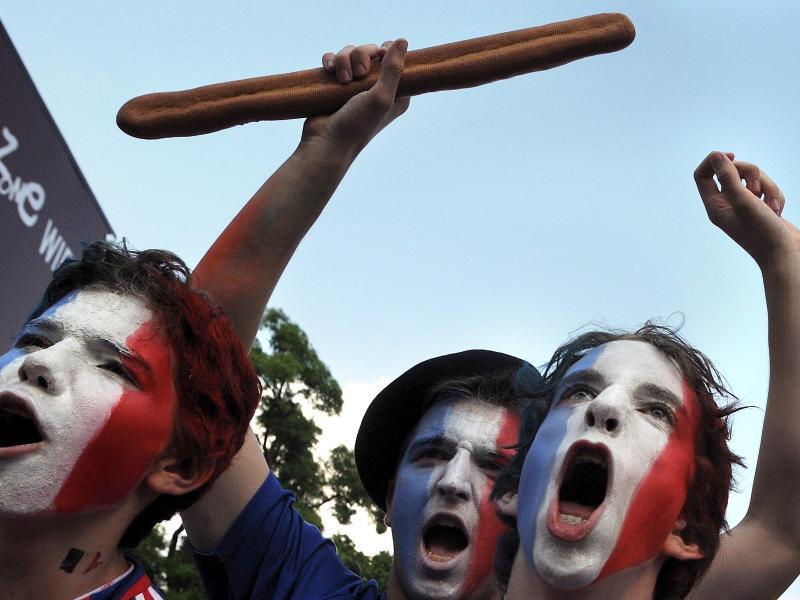 Bild zu Frankreich-Fans