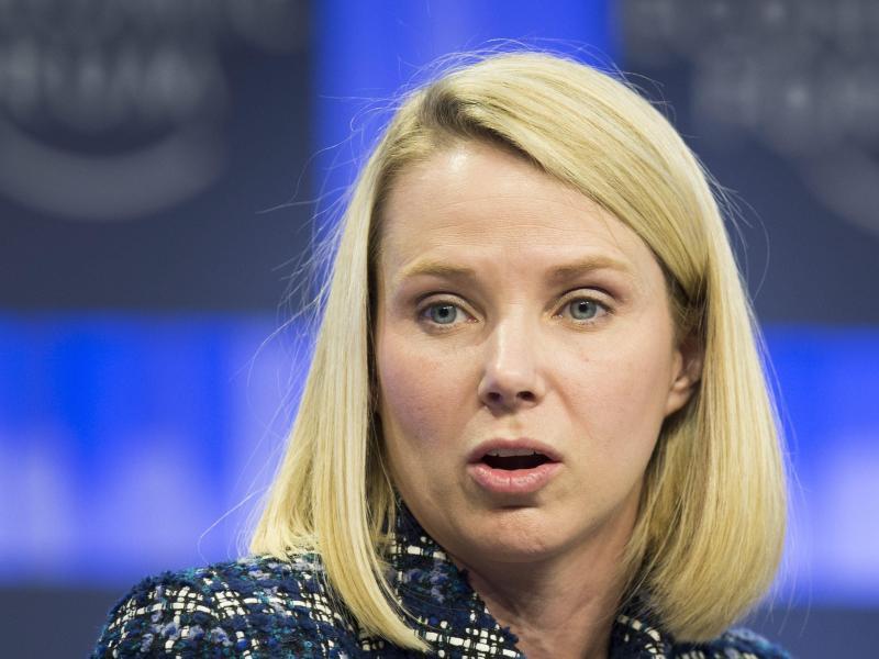 Bild zu Yahoo-Chefin Marissa Mayer
