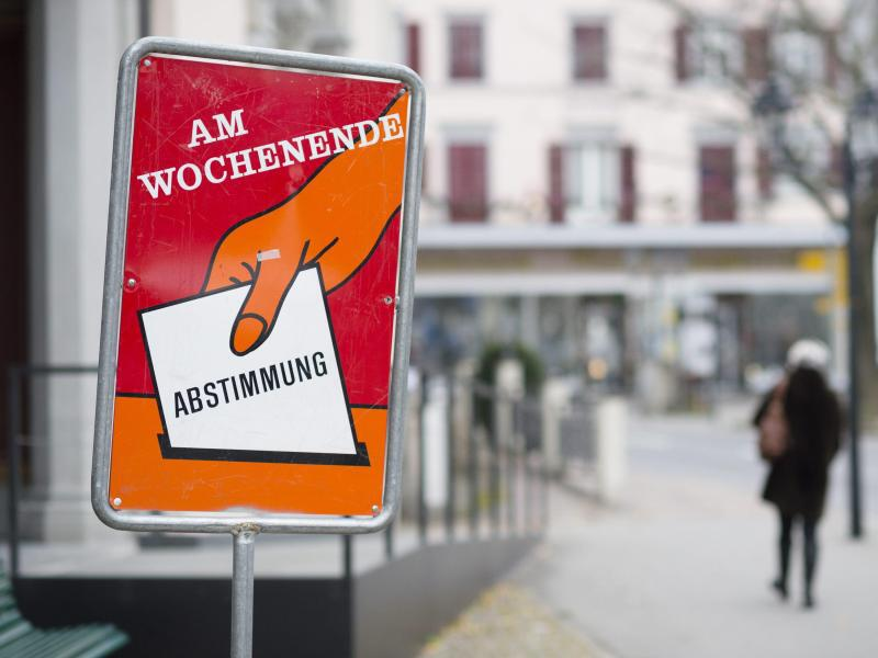 Bild zu Volksabstimmung