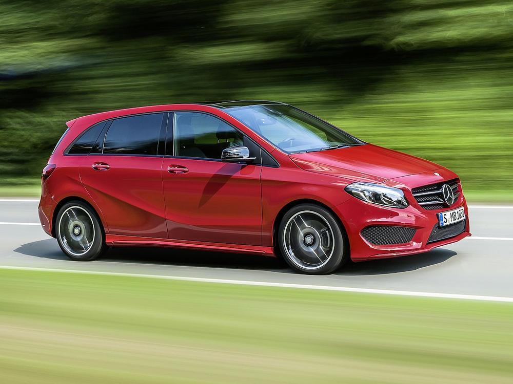 Bild zu Platz 10: Mercedes-Benz B-Klasse