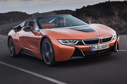 BMW i8 Roadster und 420i Coupé