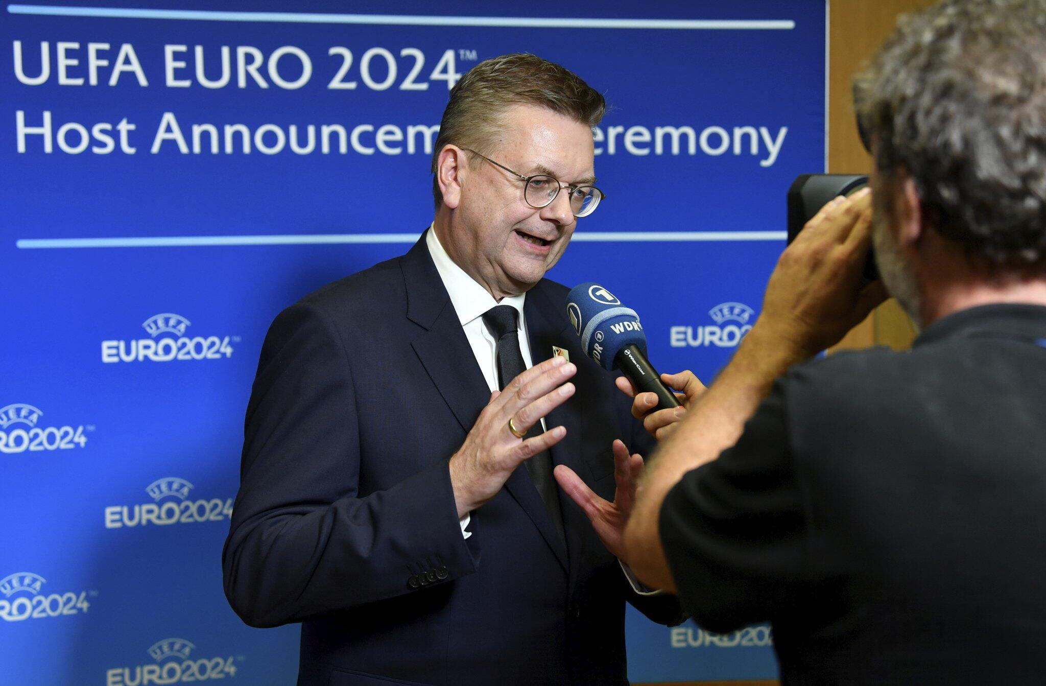 Bild zu Germany elected Euro 2024 host over Turkey