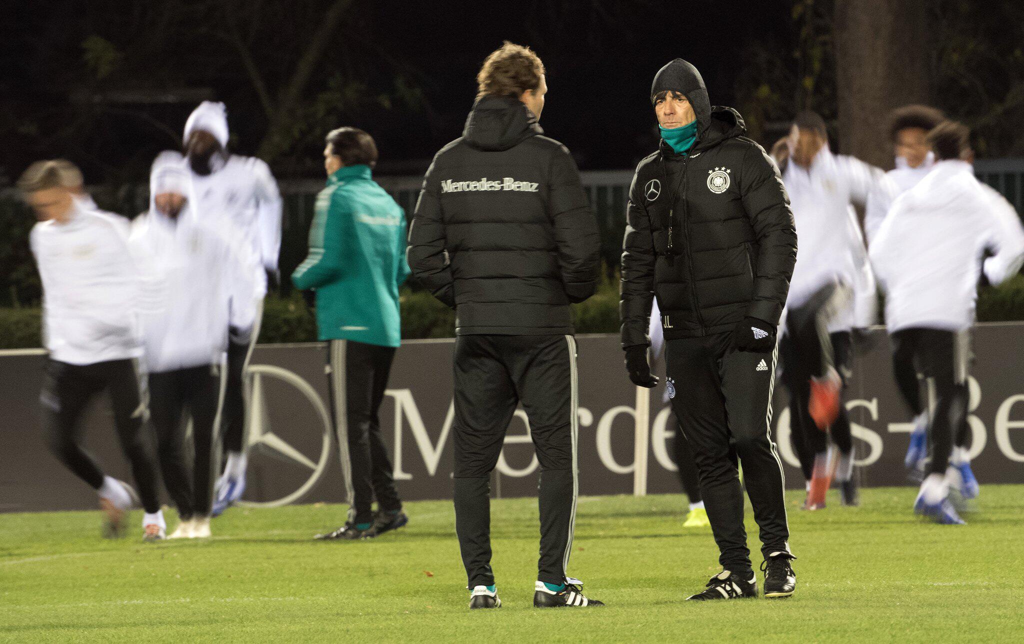 Bild zu Training Nationalmannschaft Deutschland