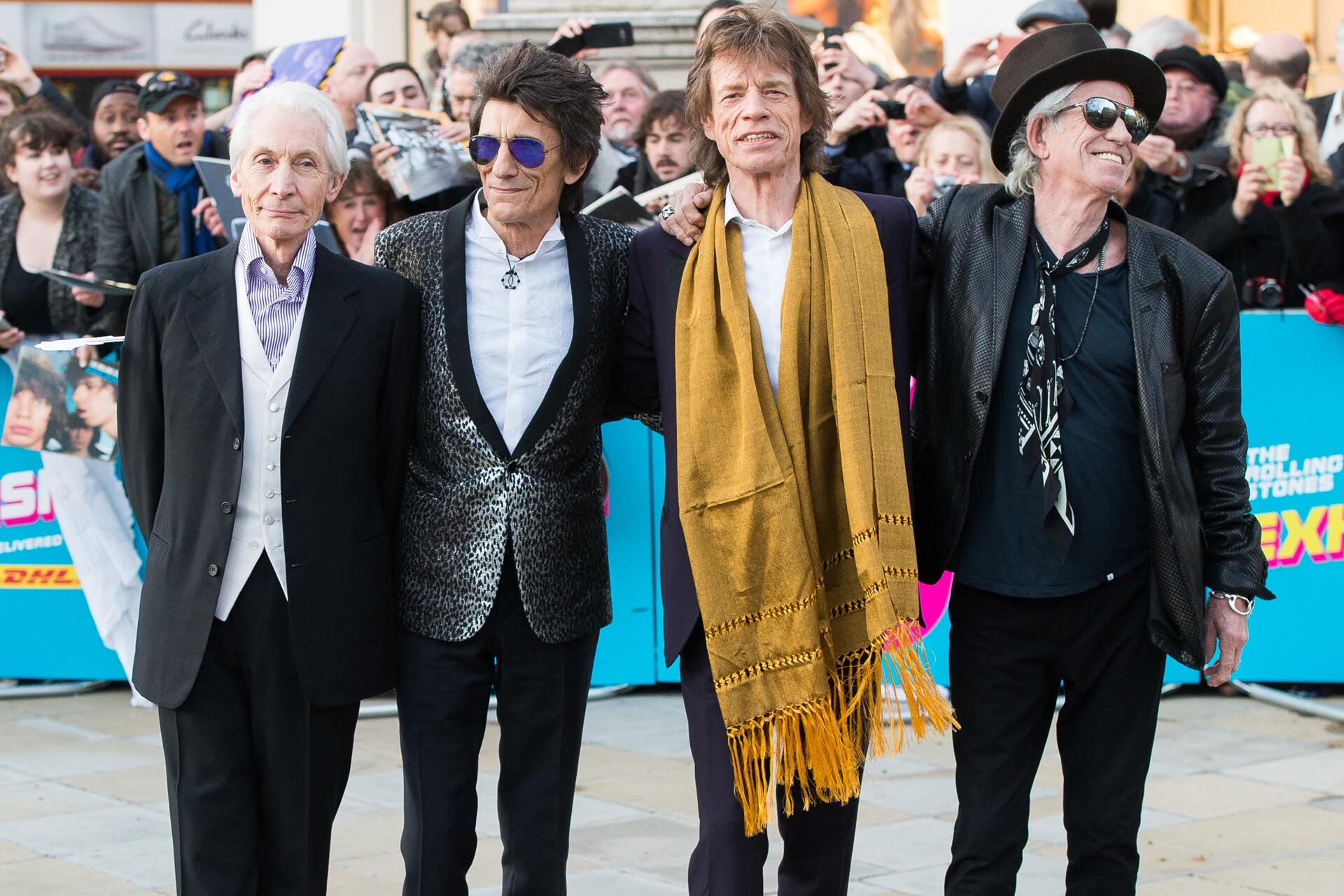 Bild zu Rolling Stones, Charlie Watts, Ron Wood, Mick Jagger, Keith Richards