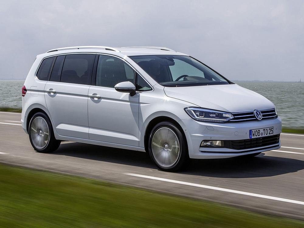 Bild zu Platz 8: VW Touran