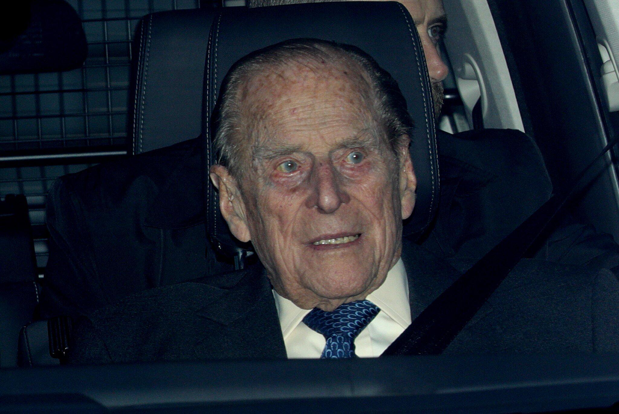 Prinz Philip in Autounfall verwickelt - er blieb unverletzt