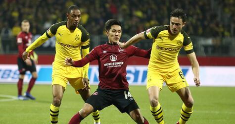 1. FC Nuremberg - Borussia Dortmund