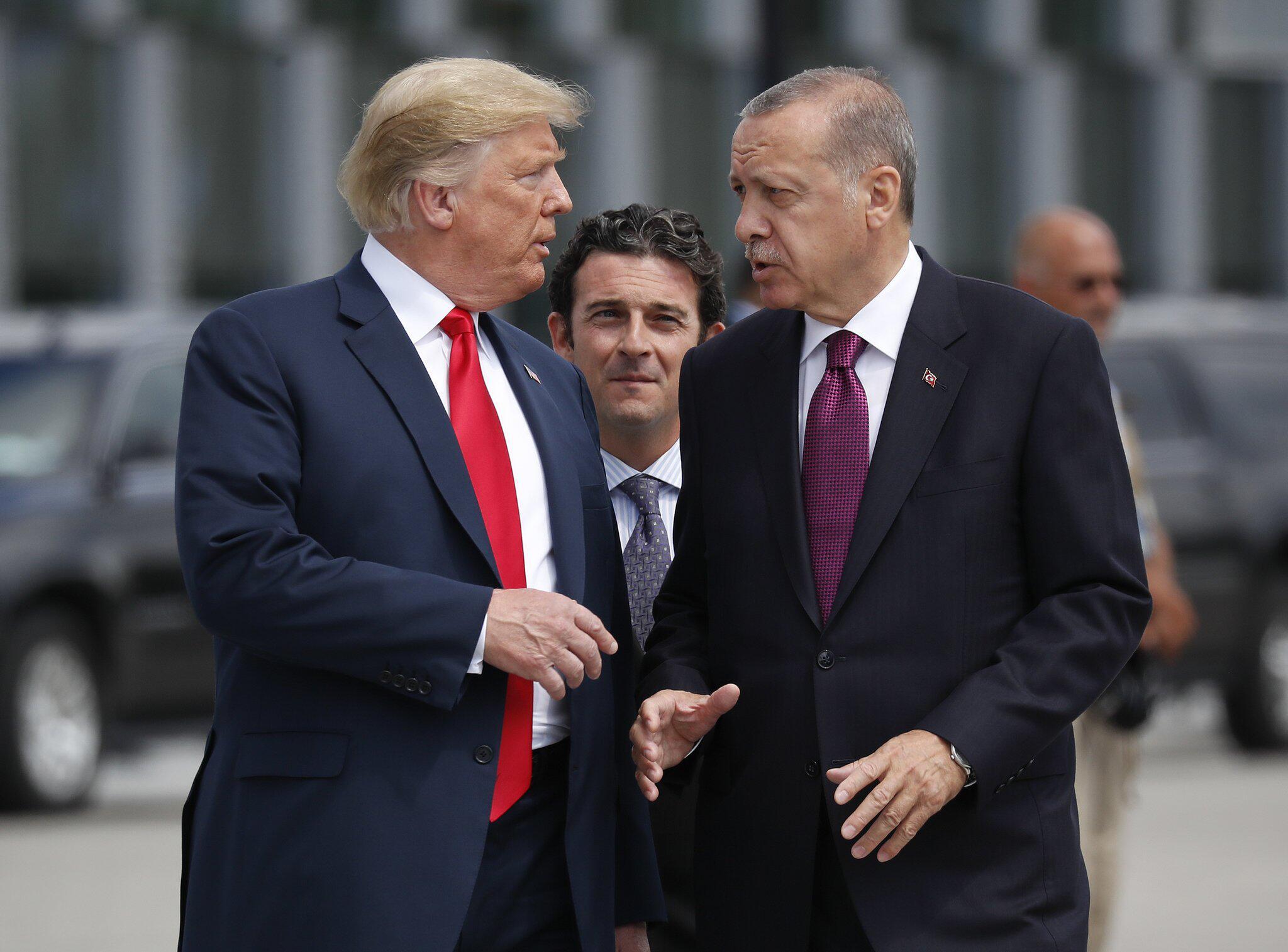 Bild zu Donald Trump, Recep Tayyip Erdogan