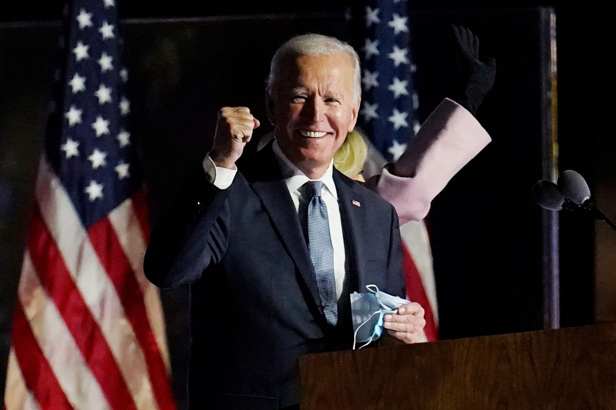 Bild zu Sender-Prognosen: Biden gewinnt US-Wahl mit 306 Wahlleuten