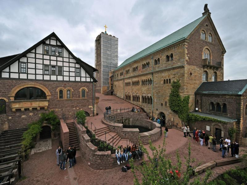Bild zu Wartburg bei Eisenach
